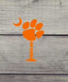 Tiger Paw & Moon SC Palmetto Tree- Yeti, Cellphones, Auto, Laptop and Bff Gifts, Teacher Gifts, Grad Gifts, Yeti Decals, Vinyl Decals, Clemson Tiger Paw, Palmetto Tree, Star Nail Art, Celtic Trinity Knot