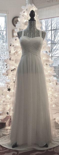 Coast Sarah Sequined Trim Tulle Overlay Occasion Midi Wedding Dress SIZE 6-20
