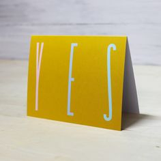 Yours Madly/ MN & Co. YES Greeting Card