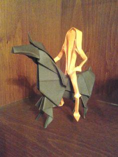 Origami Horse + Rider