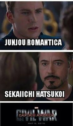 I like both. But with my experience being in both fandoms, this is highly true. | #JunjouRomantica #SekaiIchiHatsukoi