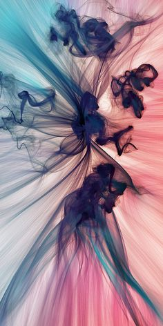 "JR Schmidt used computer processing to generate this image.    He wrote a script that ""generates gravity fields based on user input and then spawns particles that draw and change color as they move across the canvas""."