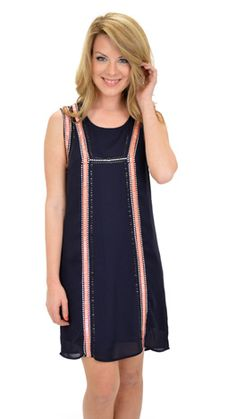The Silver Lining Dress :: NEW ARRIVALS :: The Blue Door Boutique