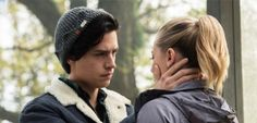 Cole Sprouse and Lili Reinhart as Jughead & Betty in Riverdale