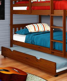 Take a look at this Espresso Trundle Bed on zulily today!
