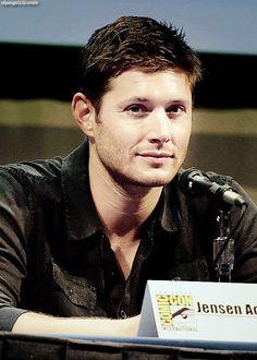 Jensen Ackles #Comic Con 2011 #SDCC 2011 #Dean Winchester #Supernatural