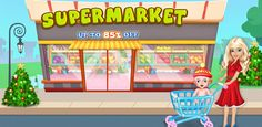 Start Christmas preparation in a different style, customize this #Sourcecode to make a #SupermarketGame and earn #Money from it.