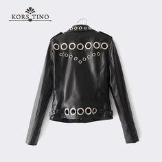 Womens Vintage Faux Leather PU Short Biker Tassel Punk Fringe Jacket Waist Coat