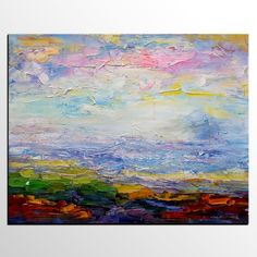 Original Wall Art, Abstract Painting, Landscape Painting, Oil Painting Large Art, Canvas Art, Wall Art, Large Artwork, Canvas Painting 237