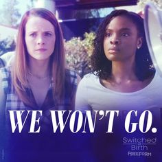 """S5 Ep4 """"Relation of Lines and Colors"""" - All we're asking for is equal justice and respect. #SwitchedAtBirth"""