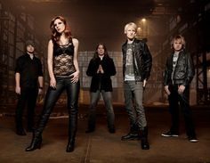 The female-fronted Delain.