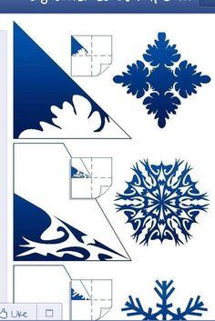 DIY snowflake 16