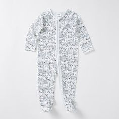 Baby Stretch Print Coverall