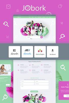 Jobork - Job Portal Template WordPress Theme