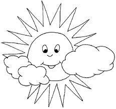 Sonne malvorlage  Sonne Malvorlage   Basteln   Pinterest
