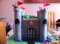 boys castle cake - Google Search