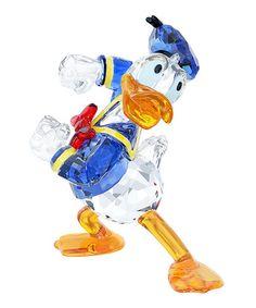 This Swarovski® Crystal Donald Duck Figurine is perfect! #zulilyfinds