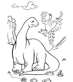 free online allosaurus colouring page kids activity sheets dinosaur colouring pages - Kid Activity Pages