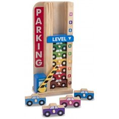 Buy Melissa & Doug Stack and Count Parking Garage from BrightMinds. Leading UK Online Educational Kids Gifts and Childrens Toy Shop for Melissa & Doug Stack and Count Parking Garage Wooden Easel, Wooden Car, Wooden Toys, Wooden Puzzles, Lego Sets, Mulberry Bush, Stacking Toys, Early Math, Melissa & Doug