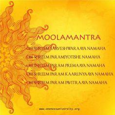 Deeksha - Oneness Moola Mantra