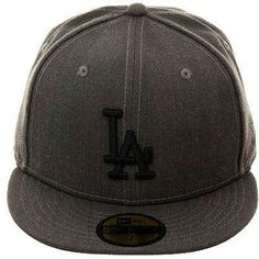 a725188c617 Exclusive New Era 59Fifty Los Angeles Dodgers Hat - Graphite