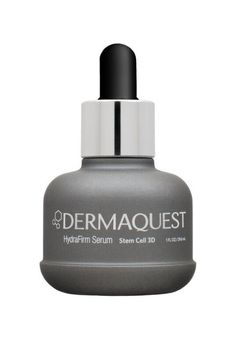 DERMAQUEST STEM CELL 3D HYDRAFIRM SERUM A perfect primer for your 3D ritual, an unparalleled stem cell complex softens fine lines and wrinkles, while improving skin tone and restoring elasticity to overworked skin. Powerful peptides and hyaluronic acid work to replenish and keep dry skin at bay. #Dermaquest #faceserum #peptides #hyaluronic #hyaluronicacid #3Dserum
