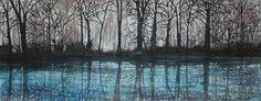 Landscape Art, Landscape Paintings, Sky, Trees, Heaven, Landscape, Wood, Landscape Drawings, Paisajes