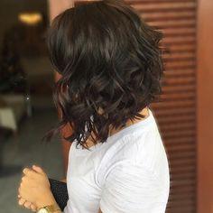 16 Moderno peinados para el pelo de longitud media //  #Longitud #media #moderno #para #Peinados #pelo