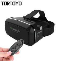 VR Shinecon VR Virtual Reality 3D Glasses Headband Cardboard Headmount Mobile 3D Movie Games for iPhone/Samsung 4.7-6 Smartphone #Affiliate