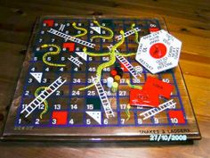 #Snakes & #Ladders' is a traditional English board game: http://www.1-2-do.com/de/projekt/Englische-Brett-Spiel-_-1-_-Snakes-and-ladders/bauanleitung/12819/