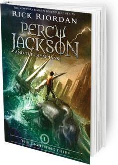 Percy Jackson and the Olympians: The Lightning Thief by Rick Riordan (F RIO)