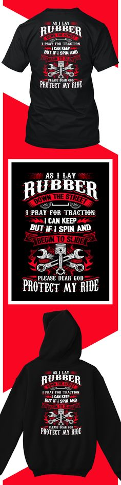 As I Lay Rubber- Limited edition. Order 2 or more for friends/family & save on shipping! Makes a great gift!