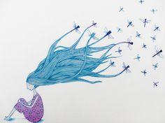 Podría volar Doodle Inspiration, Rooster, Illustration Art, Doodles, Collage, Cool Stuff, Drawings, Prints, Pattern