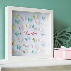 Paper Butterflies Artwork