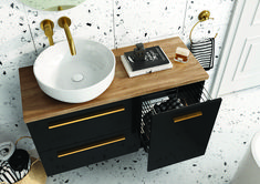 Kwadro Plus Collection na tablicy Bathroom Furniture. Meble Łazienkowe Sweet Home, Vanity, Bathroom, House, Design, Home Decor, Products, Dressing Tables, Washroom