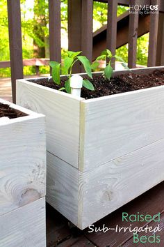 Tutorial: How to build Raised Sub-Irrigation Beds
