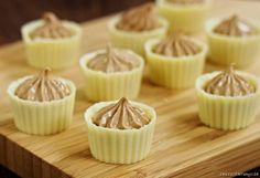 White Chocolate Praline Cups by windgestalt, via Flickr