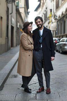 Paris Street Style Couple