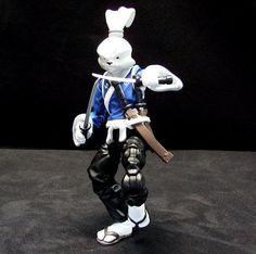 Miyamoto Usagi Yojimbo action figure