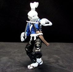Tmnt Usagi Yojimbo Action Figure 1989 Playmates Teenage