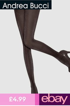621adc5998e56 Andrea Bucci Lurex Tights 30 Denier Semi Opaque Black/Silver or Black/Bronze