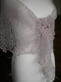 Promise Me  lace shawl pattern by Boo Knits