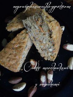 Marchewkowe ciasto z orzechami - przepis