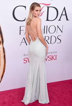 The Top Looks from the CFDA Awards Red Carpet | Rosie Huntington-Whiteley