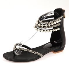 Beading Rhinestone Thong Women's Flat Flops Sandals - MeetYoursFashion - 3 http://snapmilfs.com/?id=asian_milfhttp://snapmilfs.com/?id=com