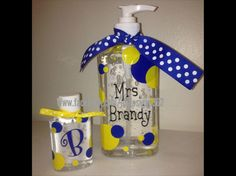Set of 2 personalized hand sanitizers by JMDesigns362 on Etsy, $8.00