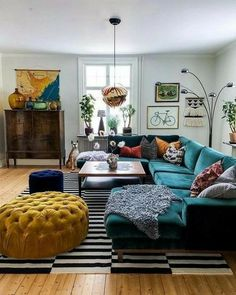 Bohemian Latest And Stylish Home decor Design And Life Style Ideas. - Bohemian Latest And Stylish Home decor Design And Life Style Ideas Roses Removable Wallpaper Colourful Living Room, Eclectic Living Room, Home Living Room, Interior Design Living Room, Living Room Furniture, Living Room Designs, Home Furniture, Furniture Sets, Eclectic Decor
