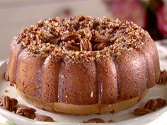 Bacardi Rum Cake - I use Wesson Oil and 3 3/4 oz. Regular Jello Vanilla Pudding.