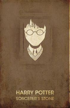Harry Potter Retro Poster Design - love it!