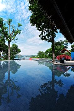 Beautiful pool view in thailand (Sri Panwa, 2011 Photo shooting by Ken Pils on location Ansel Adams, Beautiful Pools, Beautiful Places, Thailand Photos, Concrete Pool, Photography Sites, Luxury Pools, Paradise Found, Garden Pool